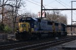 CSX Q300-20 Power - 2 SD50-2s